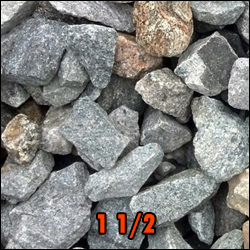 gravel 1.5 inches deliverable