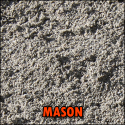 mason sand deliverable